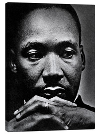Lienzo  Martin Luther King Jr.