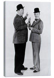 Lienzo  Oliver Hardy and Stan Laurel