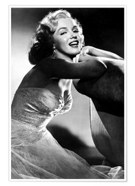 Póster  ALL ABOUT EVE, Marilyn Monroe