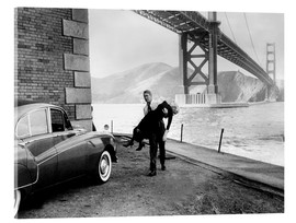Metacrilato  VERTIGO, James Stewart, Kim Novak, 1958