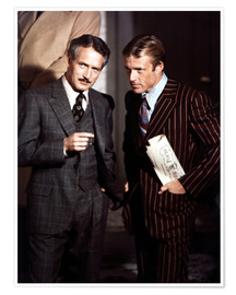 Póster THE STING, from left: Paul Newman, Robert Redford, 1973