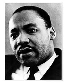Póster Dr. Martin Luther King Jr. (1929-1968), African American civil rights leader, c. 1960's..