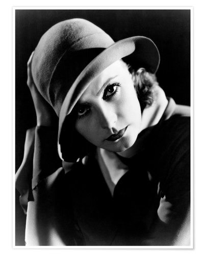 Póster INSPIRATION, Greta Garbo, portrait by Clarence Sinclair Bull, 1931