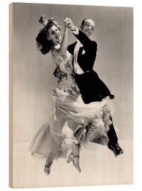 Madera  Rita Hayworth y Fred Astaire
