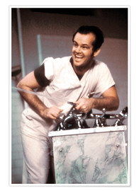 Póster Jack Nicholson in One Flew Over the Cuckoo's Nest