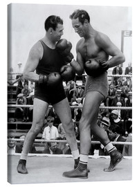Lienzo  Jack Dempsey and Max Baer