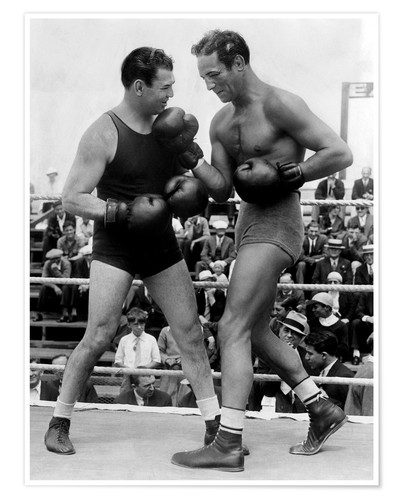 Póster Jack Dempsey and Max Baer