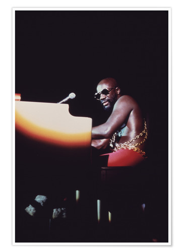 Póster Isaac Hayes