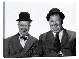 Lienzo  Stan Laurel and Oliver Hardy