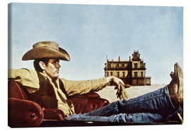 Lienzo  James Dean as a cowboy