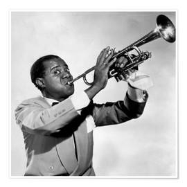 Póster  Louis Armstrong