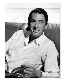 Póster Gregory Peck