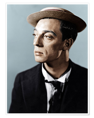 Póster Buster Keaton