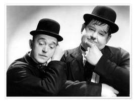 Póster Stan Laurel and Oliver Hardy