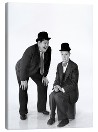 Lienzo  Laurel and Hardy