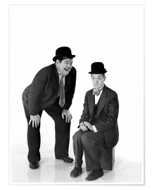 Póster Laurel and Hardy
