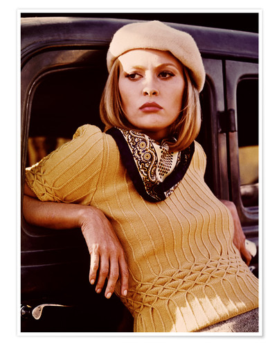 Póster Faye Dunaway as Bonnie