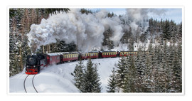 Póster Brocken Railway Fotokurve4