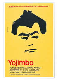Póster YOJIMBO, (aka THE BODYGUARD), 1961