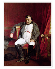 Póster Napoleon after his Abdication