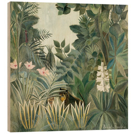 Madera  Equatorial jungle - Henri Rousseau
