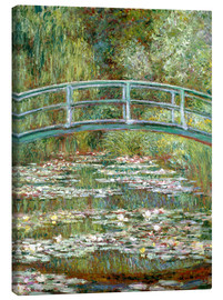 Lienzo  the japanese bridge - Claude Monet