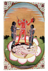 Cuadro de metacrilato  Icon of Chinnamasta - Indian School