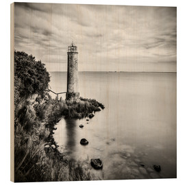 Cuadro de madera  [the forgotten lighthouse] - Mario Benz