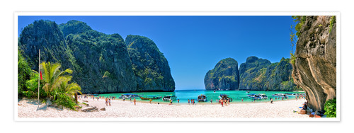 Póster Maya Bay - The Beach - Thailand