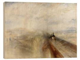 Madera  Rain, Steam and Speed - Joseph Mallord William Turner