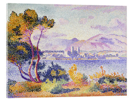 Cuadro de metacrilato  Antibes, Nachmittags (Antibes, Apres-midi). 1908. - Henri Edmond Cross