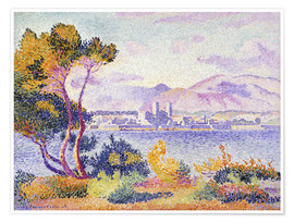 Póster Antibes, Nachmittags (Antibes, Apres-midi). 1908.