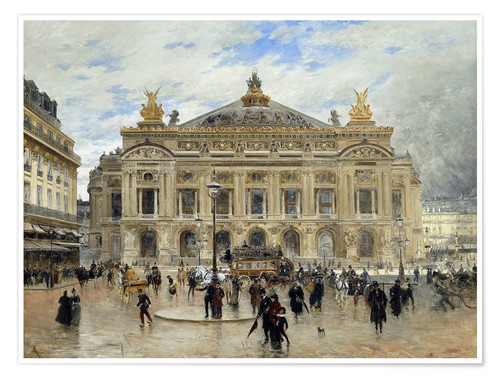 Póster Grand Opera House, Paris