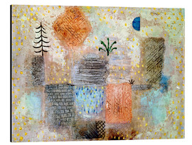 Aluminio-Dibond  Park with the cool half-moon - Paul Klee