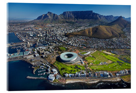 Cuadro de metacrilato  Aerial view of Cape Town Stadium - David Wall