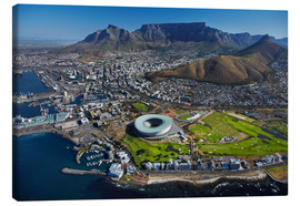 Lienzo  Aerial view of Cape Town Stadium - David Wall