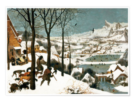 Pieter Brueghel d.Ä. - Hunters in the Snow