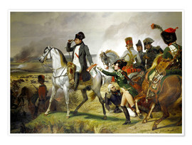 Póster Napoleon Bonaparte, Battle of Wagram 06 July 1809th