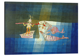 Aluminio-Dibond  Sinbad the Sailor - Paul Klee