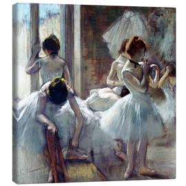 Lienzo  dancers Group - Edgar Degas