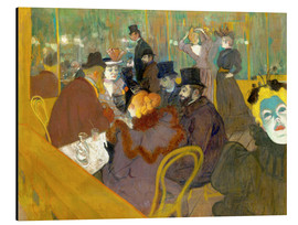 Cuadro de aluminio  At the cabaret - Henri de Toulouse-Lautrec