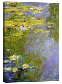 Lienzo  lily pond - Claude Monet
