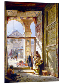 Metacrilato  The goal of the great Umayyad Mosque in Damascus - Gustave Bauernfeind
