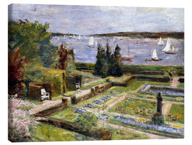 Lienzo  The Arnholds' Wannsee garden - Max Liebermann