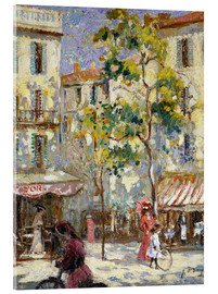 Metacrilato  Street scene in Paris - Joseph Alfred Terry