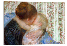 Cuadro de aluminio  The Goodnight Kiss - Mary Stevenson Cassatt