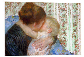 Cuadro de PVC  The Goodnight Kiss - Mary Stevenson Cassatt