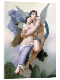 Cuadro de metacrilato  El secuestro de Psique - William Adolphe Bouguereau