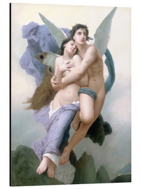 Cuadro de aluminio  El secuestro de Psique - William Adolphe Bouguereau