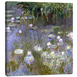 Lienzo  Water Lilies - Claude Monet